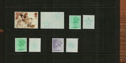 GREAT BRITAIN - QEII - 1982-83-84 - UNDERPRINTS - 8 Stamps - 1952-.... (Elizabeth II)