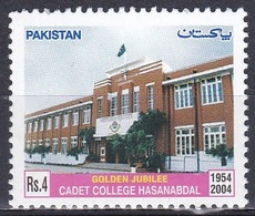 Pakistan 2004 Bildung Ausbildung Education Schulen Scools College Militär Armee Gebäude Buildungs, Mi. 1206 ** - Pakistan