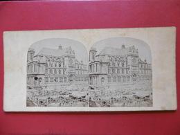 PARIS EGLISE SAINTE EUSTACHE PHOTO LECOCQ FRENE CIRCA 1850 - Photos Stéréoscopiques