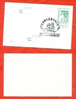 Taiwan 1978.Bamboo.Postcard With Special Blanking. - Taiwan