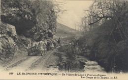 564, Le Dauphiné Pittoresque. De Villars-de-Lans à Pont-en-Royans. Les Gorges De La Bourne. LL. (Attelages). (389 Isère) - Frankreich