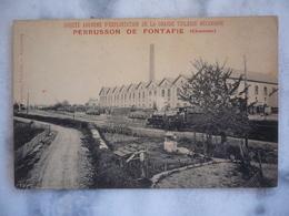 Société Anonyme D'exploitation De La Grande Tuilerie Mécanique PERRUSSON DE FONTAFIE ( Charente) - Sonstige Gemeinden