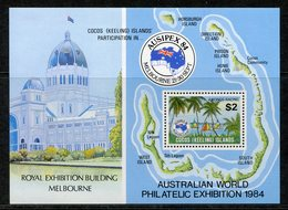 Cocos (Keeling) Islands 1984 Ausipex International Stamp Exhibition MS MNH (SG MS121) - Islas Cocos (Keeling)
