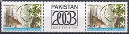 Pakistan 2003 Philatelie Philately Tiere Animals Fauna Vögel Birds Ziegen Goats Flaggen Fahnen Flags, Mi. 1141 ** - Pakistan