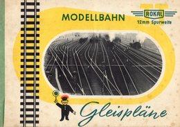 Catalogue ROKAL Gleispläne 1954 TT 12 Mm Spurweite - German