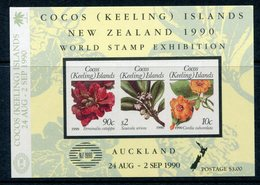 Cocos (Keeling) Islands 1990 New Zealand 1990 International Stamp Exhibition MS MNH (SG MS229) - Islas Cocos (Keeling)