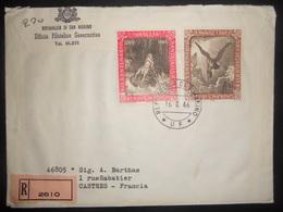 San-marin Lettre Recommandee De 1966 Pour Castres - San Marino