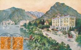 XCH.685.  LUGANO - Huhn's Hotel Beau Rivage - 1912 - TI Tessin