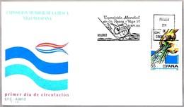 EXPOSICION MUNDIAL DE PESCA - World Fishing Exhibition. SPD/FDC Madrid 1991 - Peces