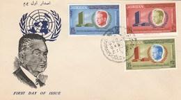 Jordanie - Jordan - FDC 1962 - Dag Hammarskjold - Prix Nobel De La Paix 1961 - Jordanie