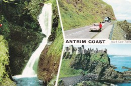 Antrim Coast, Northern Ireland, Posted 1986 With Stamp - Antrim / Belfast