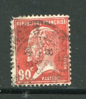 FRANCE- Y&T N°178- Oblitéré - 1922-26 Pasteur