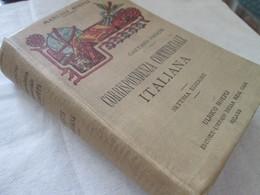 GAETANO FRISONI, CORRISPODENZA COMMERCIALE ITALIANA, MILANO 1921 - Books, Magazines, Comics