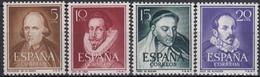 ESPAÑA 1950/53 Nº 1071/74 NUEVO PERFECTO - 1931-50 Nuevos & Fijasellos