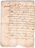 ACTE DE NOTAIRE ROYAL 18?? ALBI DIFFICILE A LIRE - Documents Historiques
