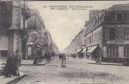 REPRODUCTION DE C P A--56---PONTIVY--rue Nationale--la Bretagne Pittoresque--voir 2 Scans - Pontivy