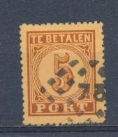 Nederland/Netherlands/Pays Bas/Niederlande 1870 Mi: PM 1 A II Nvph: P 1 AB (Gebr/used/obl/o)(3545) - Postage Due