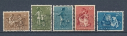 Nederland/Netherlands/Pays Bas/Niederlande 1954 Mi: 649-653 Nvph: 649-653 (Gebr/used/obl/o)(3547) - 1949-1980 (Juliana)
