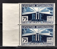 FRANCE 1924 - PAIRE Y.T. N° 215 - NEUFS** - France