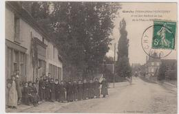 CARTE POSTALE   GARCHY 58  Hôtel Montupet Et Un Des Ateliers De Bas De La Maison Br....? - Autres Communes