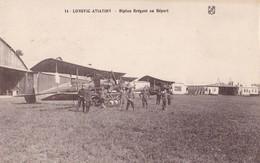 LONGVIC AVIATION. - Biplan Bréguet Au Départ - 1919-1938