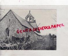 23- A COTE DE PIGEROLLES LA CHAPELLE DE PAILLER - CREUSE - RARE PHOTO ORIGINALE - Lieux