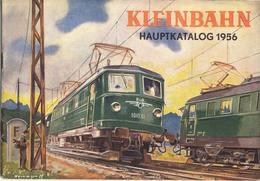 Catalogue KLEINBAHN 1956 Modelleisenbahnen HO Zubehör Boot - German
