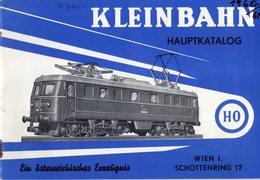 Catalogue KLEINBAHN 1961 Modelleisenbahnen HO Zubehör Brücke - German