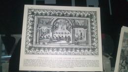 Affiche (dessin) - Etablissement De L'académie Française Au LOUVRE (1782) - Affiches