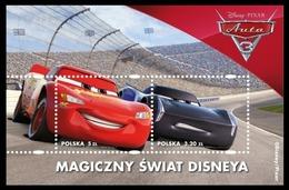 Poland 2017 Polonia / Walt Disney Fantasy Cars MNH Coches Autos / Cu8429  41 - Disney