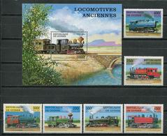 Guinea 1997 / Railway Trains MNH Trenes Züge / Cu8430  41 - Trenes