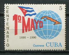 Cuba 1990 / First Of May Work Day MNH Uno De Mayo Día Del Trabajo / Cu8628  C3 - Cuba