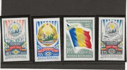 ROUMANIE - SERIE N° 2367 A 2370 NEUF X - ANNEE 1967 - Nuevos