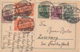 DR GS Zfr. Minr.2x 111,140,143,148  Rheydt 8.8.22 - Briefe U. Dokumente