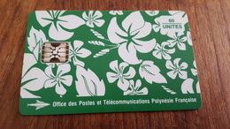 Télécartes De Polynésie Française PF18a 1993 PARÉO VERT MATE 9 N°rouges état Luxe - Polynésie Française