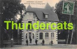 CPA 58 POUGUES LES EAUX HOTEL DES POSTES  ET TELEGRAPHES - Pougues Les Eaux