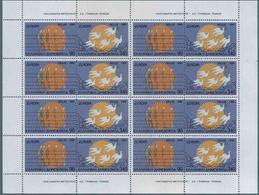 1995 Europa C.E.P.T., Minifoglio Grecia, Serie Completa Nuova (**) - Europa-CEPT