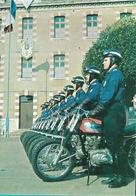 SENS Centre D'instruction De La Police Nationale Motos Motards - Sens