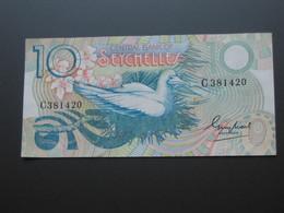 10 Ten Rupees  - SEYCHELLES  - Billet Quasi Neuf   **** EN  ACHAT IMMEDIAT  **** - Seychelles