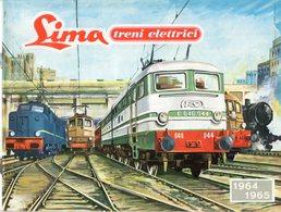 Catalogue LIMA 1965-1965 HO Treni Elettrici - En Allemand Et En Néerlandais - German