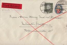 DR Brief Eilbote Mif Minr.417,428Y Gelsenkirchen 6.7.29 - Deutschland