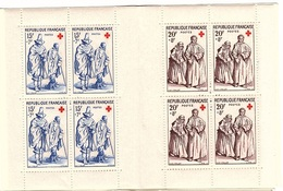 C 23 - CARNET CROIX-ROUGE 1957 Neuf** 1er Choix - Red Cross