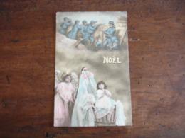 Guerre 14.18 Carte Patriotique Poilu Enfant Noel Edi Patriotic - Guerra 1914-18