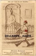 CPA Manneken-Pis Et Adolf Hitler 1944 -  Carte Satirique Américaine - Cachet De New York à Moncton Canada - Guerre 1939-45