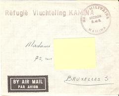 Katanga - KAMINA Réfugié Vluchteling 26 / 7/ 1960 - Indépendance Du Congo, événements Du Congo (ex Belge) - Katanga