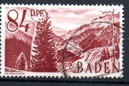 Baden   / N 26 /  84 Pf Lie De Vin  / Oblitéré - Baden