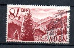 Baden   / N 26 /  84 Pf Lie De Vin  / Oblitéré - Bade