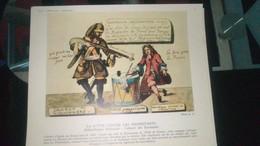 Affiche (dessin) - LA LUTTE CONTRE LES PROTESTANTS  (cabinet Des Estampes) - Afiches