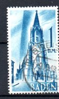 Baden   / N 27 / 1 DM Bleu / Oblitéré - Baden