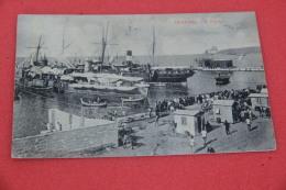 Trapani Il Porto 1907 Con Bellissima Animazione - Non Classés